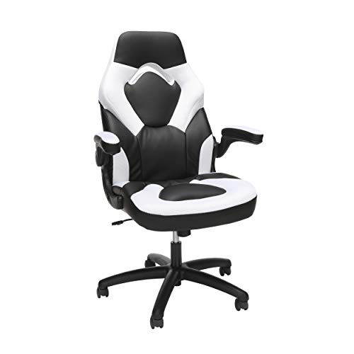 OFM ESS Collection GAMING CHAIR WHITE, Racing Style