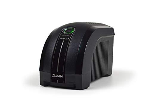 Nobreak Ups Mini 600VA Monovolt, TS Shara, 48580-8-1, TS Shara, UPS MINI 4004, PretoPequeno