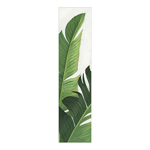 Bilderwelten Tenda Scorrevole Interno con Stampa Piante preferite - Banana Senza Supporto 250 x 60cm