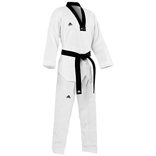adidas Taekwondo Dobok, Black-V, WTF Approved (5/190cm)