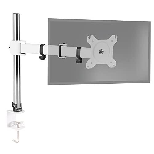 Duronic DM251X3 We Soporte para Monitor de 13' a 27' Pulgadas 8Kg máx - Altura Ajustable, Giratorio, inclinable, Brazo Extensible - Soporte para Ordenador, TV LED, LCD