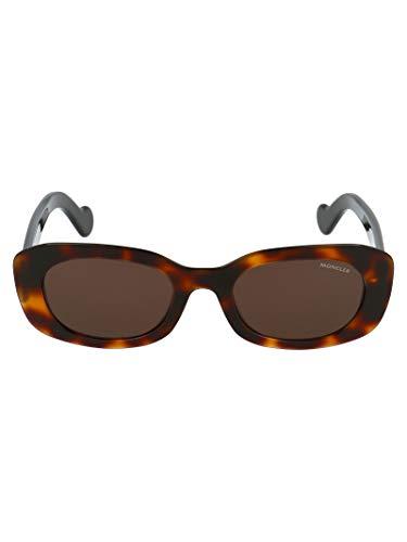 MONCLER Luxury Fashion dames-zonnebril ML01235252E52EHAVANA, bruin