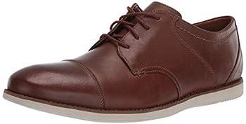 Clarks Men s Raharto Vibe Oxford Tan Leather 120 M US
