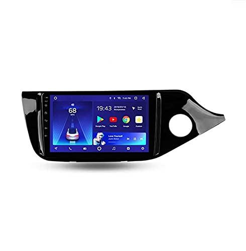 Android 10.0 Coche Estéreo Doble Din Radio Automático Para Kia Ceed 2 2012-2018 Gps Navege Cabeza De La Navillación De La Navegación De La Navegación Digital D(Size:Cuatro nucleos,Color:WIFI:1GB+16GB)