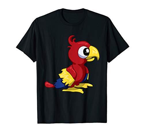 Papagei Shirt für Kinder mit dem Lieblingstier Papagei T-Shirt