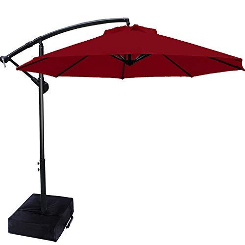 Patio Umbrellas Cantilever Umbrella Offset Hanging...