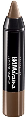 Maybelline New York Augenbrauenwachs, Brow Drama Salbe Medium Brown