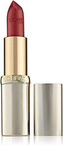 L'Oréal Paris Color Riche in Nr. 345 Cherry Crystal, farbintensiver Lippenstift mit pflegenden...