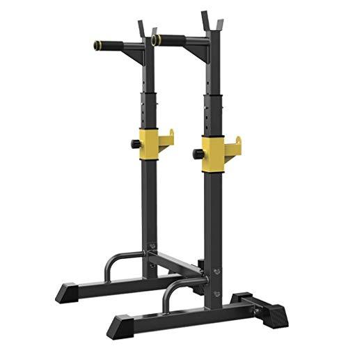 Fitness Barras paralelas Sencillas para el hogar, Rejilla para Sentadillas, Rejillas para Press de banca para el hogar, Equipo Multifuncional, Rejilla para Pesa