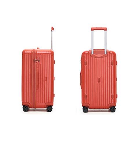 Conjunto de equipaje, juego de maleta de carcasa de carcasa dura, rodillos, viaje expandible ligero ABS + PC Maleta, 26 pulgadas de 28 pulgadas 30 pulgadas de 32 pulgadas ( Color : Red , Size : 30 )