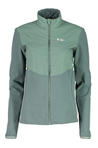 Maloja malmöm Multisport Jacke, Damen M grün (Dark Mint)