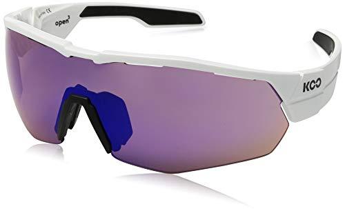 Kask Koo Open Cube - Gafas de sol para ciclismo, color blanco, tamaño mediano
