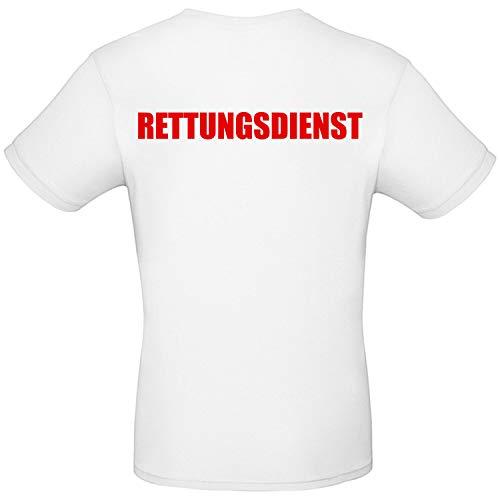 Shirt-Panda Herren T-Shirt · Rettungsdienst · Kurzarm Rundhals Shirt Hemd Rettungssanitäter Feuerwehr Arzt Sanitäter Unfallhelfer Lebensretter Arbeitskleidung ·