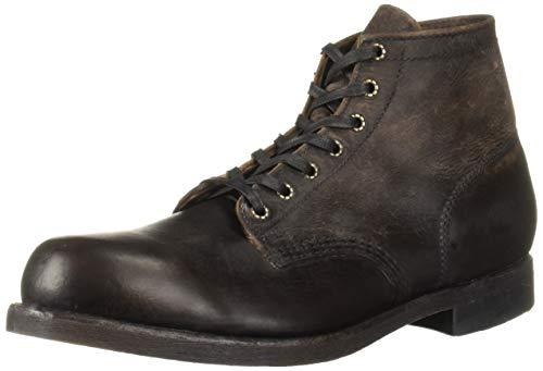 FRYE Mens Prison Boot, Dark Brown, 11.5M
