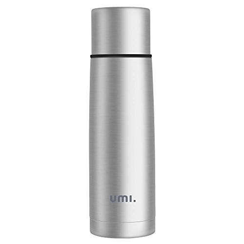 Umi. by Amazon - Thermoskanne, Vakuum Isolierflasche 500ml, aus 18/8 Edelstahl, BPA Frei,Leicht und Kompakt, Thermoskanne Baby Unterwegs