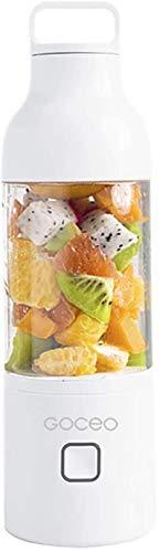 SYLOZ-URG Blender portátil, recargable USB fruta personal, Exprimidor Copa, Baby mezclador de alimentos, jugo de cristal Extractor for el hogar, viajes, 600ml SYLOZ-URG