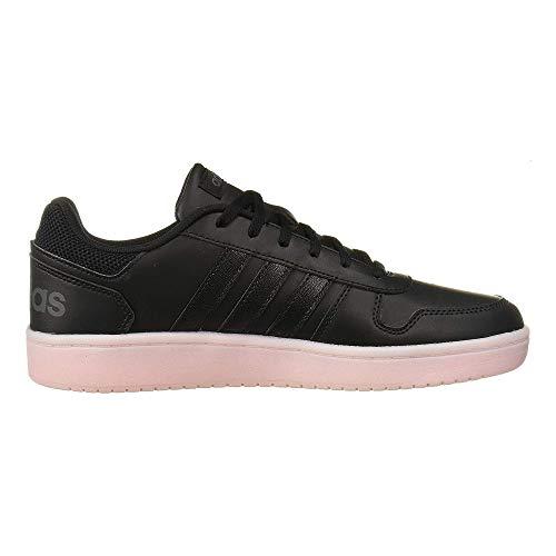 adidas Mujer Hoops 2.0 Zapatillas Negro, 42