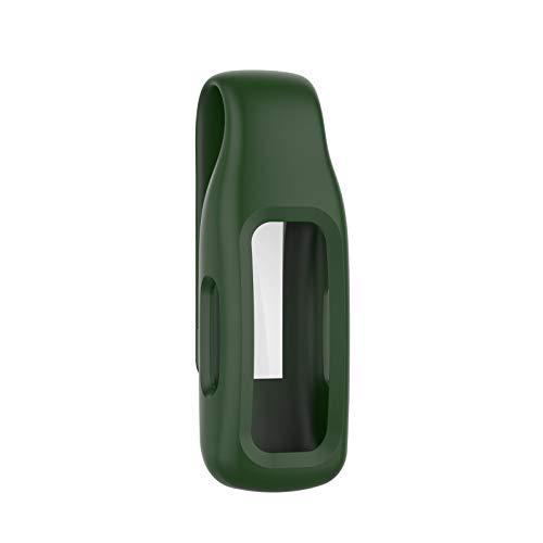 Qianqian56 FitbitInspire 2 - Funda protectora de silicona para reloj