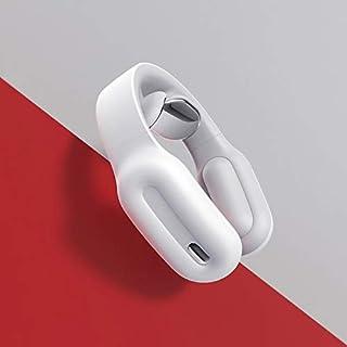 Masaje HJ001 Mini Control Remoto Inteligente Mini Cuello de Hombro eléctrico Masajeador Cervical Masaje (Color : Blanco)