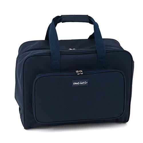 Bolsa para máquina de coser de regalo Hobby, azul marino, (a) 33 x (a) 45,7 x (p) 20,3 cm.