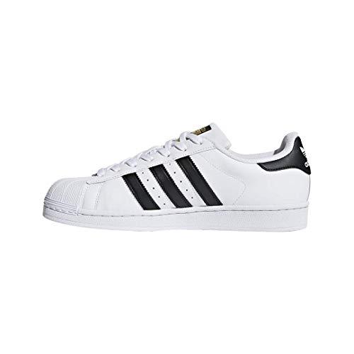 adidas Superstar, Zapatillas de deporte Unisex Adulto, Blanco (Ftwr White/Core Black/Ftwr White), 44 2/3 EU