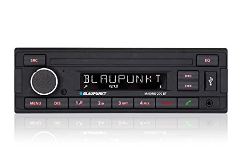 Blaupunkt Madrid 200 BT | Bluetooth, RDS Tuner, Freisprecheinrichtung, USB, Aux-In