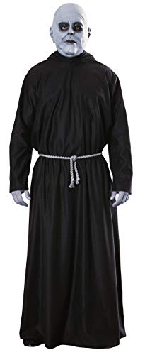 Rubie's mens The Addams Family, Uncle Fester Costume ,Black ,Standard(Fits upto 44 Jacket size)