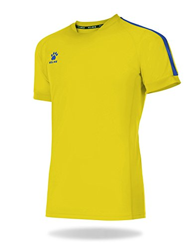 Kelme Global Shirt Fußball, Herren S Gelb (Royal)