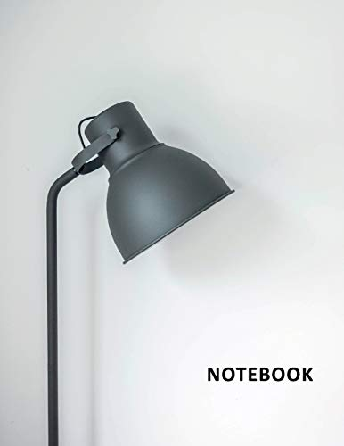 College Ruled Notebook: Best architect lamp Gorgeous Student Composition Book Daily Journal Diary Notepad for researching how do you become a lighting designer