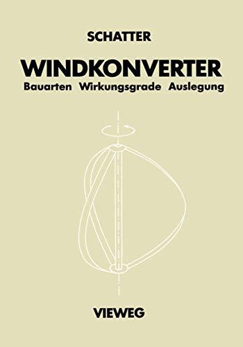 Windkonverter: Bauarten, Wirkungsgrade, Auslegung
