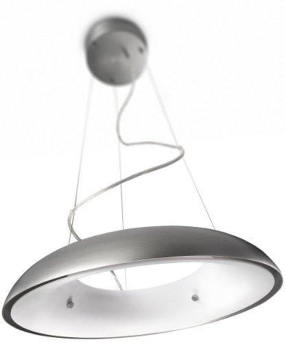 Philips myLiving Amaze Energiespar- Pendelleuchte mit 60W, inklusive Leuchtmittel, 1-flammig, Aluminium, 402334816