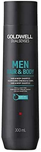 Goldwell Dualsenses for Men Hair und Body Shampoo, 1er Pack, (1x 300 ml)