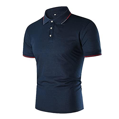 BIONIO Polo Shirts for Men, Quick-Dry Performance Golf Shirts 1/4 Zipper Polo...