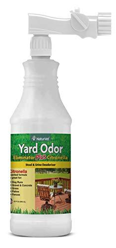 NaturVet – Yard Odor Eliminator Plus Citronella Spray