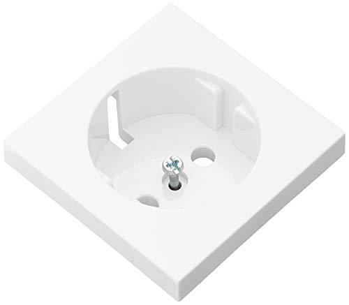 Gira Abdeckung für Kombi-Steckdose ST55 reinweiß-glänzend, 092003 - KEINE STECKDOSE
