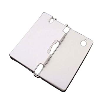 OSTENT Hard Aluminum Metal Game Case Cover Skin Protector Compatible for Nintendo DSi NDSi Color Silver