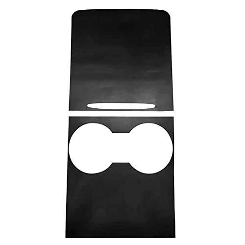 Yuquanxin Pantalla Protectora del Panel De Control Central del Automóvil para Modelo-3 / Y 2021 Control Central Tres Parche Se Siente Durable (Color : Black)