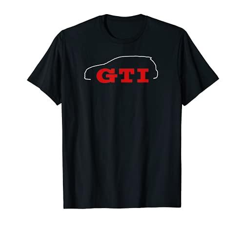 Car Tees GTI Outline T-Shirt