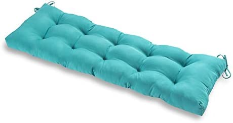 Greendale Home Fashions AZ5812 TEAL Arctic 51 inch Outdoor Bench Cushion product image