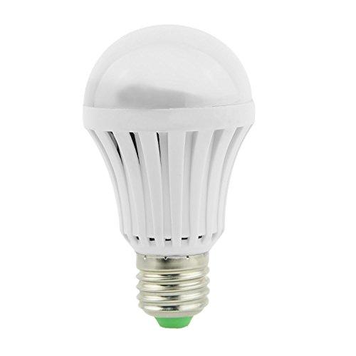 RETYLY Alta tensione 1 E27 24LED 2835 SMD 12W plastica LED lampadina di emergenza intelligente 416LM luce bianca 85V-265V con imballaggio