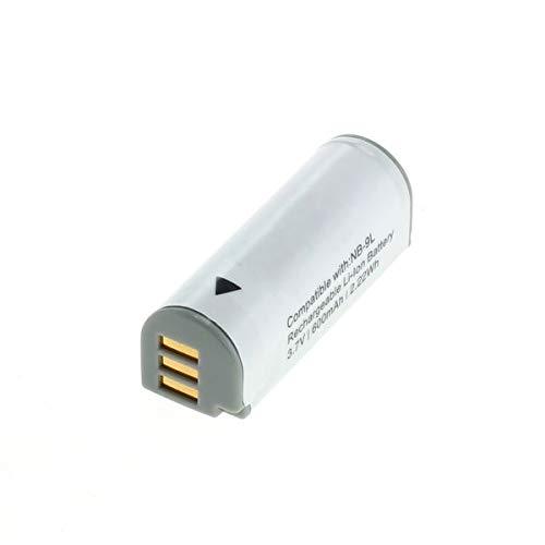 subtel® Qualitäts Akku kompatibel mit Canon IXUS 1000 HS 1100 HS IXUS 500 HS 510 HS PowerShot ELPH 510 HS ELPH 520 HS ELPH 530 HS PowerShot N N2 PowerShot SD4500 is, NB-9L 600mAh Ersatzakku Batterie