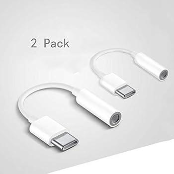 XYC EC Adattatore USB C a 3.5 mm,Type C Connettore Tipo C Femmina Audio per Dispositivi Huawei P20/P20 Pro/P30/P30 Pro, Xiaomi 6/8, Mix 2/3, OnePlus6T