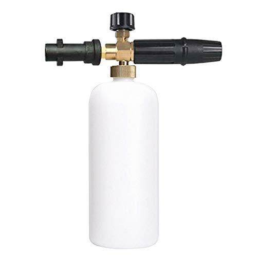 yeehao Einstellbare Schaumlanze Seifenspenderflasche für Karcher K2-K7 Waschkanone Jet