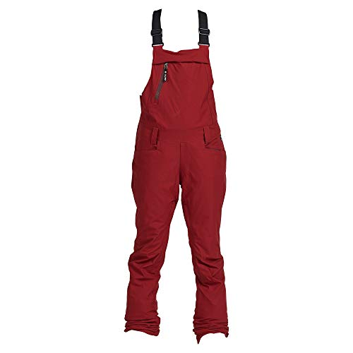 Nikita Damen Snowboard Hose Evergreen Stretch Bib Pants