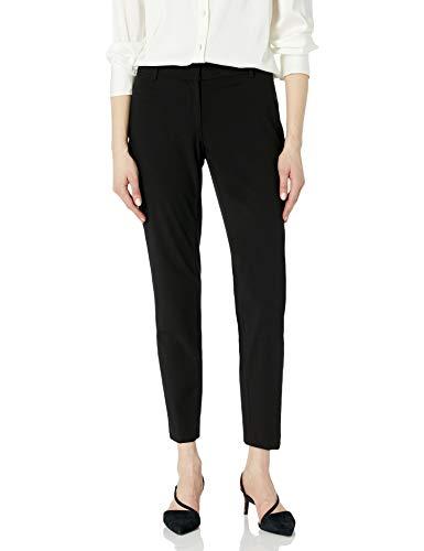 Calvin Klein Women's Slim-Fit Suit Pant, Black, 0