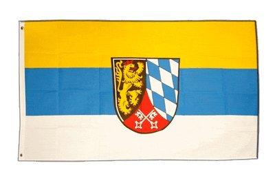 Flaggenfritze Fahne/Flagge Deutschland Oberpfalz + gratis Sticker