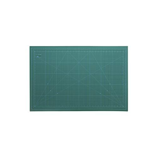 magnetiks Tapis de découpe DIN A1 - Auto-cicatrisant des deux côtés - Vert - 90 x 60 cm