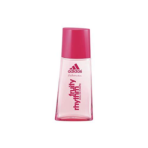 adidas Fruity Rhythm Eau De Toilette – Sportlich-fruchtiges Damen Parfüm vereint mit weiblicher Sinnlichkeit – 1 x 30 ml