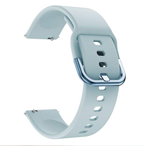 GZMYDF Banda de Relojes de Accesorios de Pulsera 22 mm para Huawei Watch GT 2E / GT 2 46mm para Amazfit GTR 47mm Silicone 22mm para Samsung Galaxy Gear S3 Classic/Frontier Reemplazo de RelojStrap