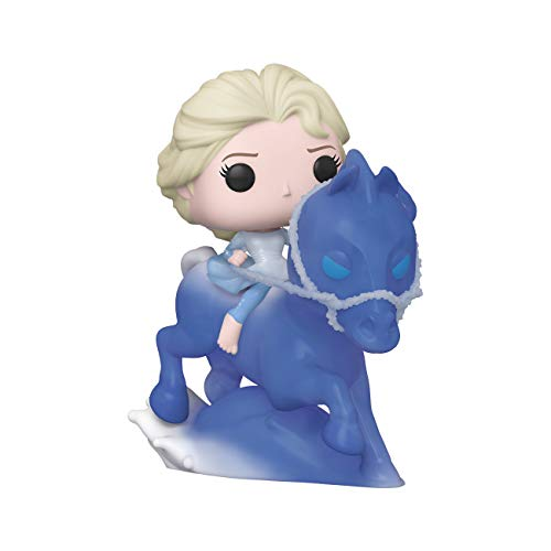 Funko- Pop Ride: Frozen 2-Elsa Riding Nokk Figura Coleccionable, Multicolor (46586)